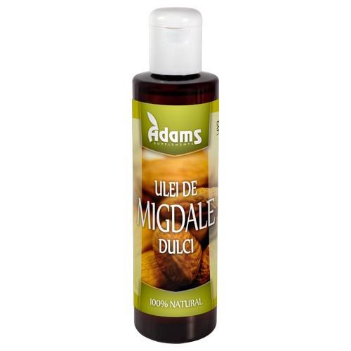 Ulei de migdale dulci presat la rece - 200 ml Adams Vision