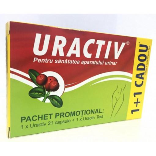 Uractiv - 21 cps + Uractiv Test Gratis
