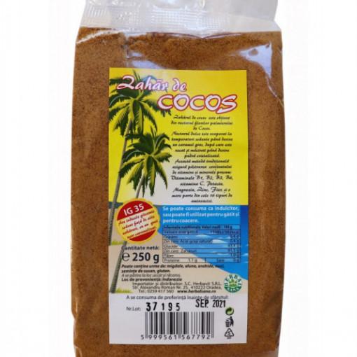 Zahar cocos - 250 g Herbavit