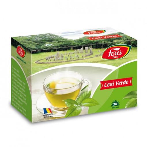 Ceai verde - 20 pl Fares