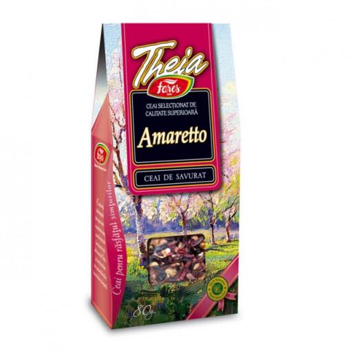 Ceai Theia Amaretto - 80 gr Fares
