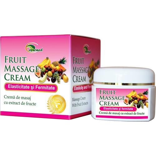 Crema masaj cu extracte din fructe - Fruit Massage Cream - 40 ml