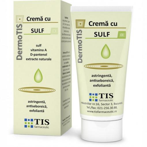 Dermotis Crema cu sulf - 50 ml