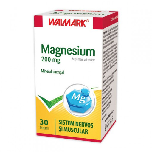 Poze Magnesium 200mg - 30cpr