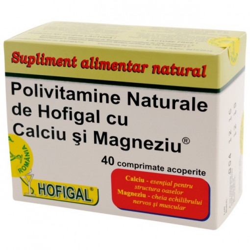 Poze Polivitamine - 40 cpr Hofigal