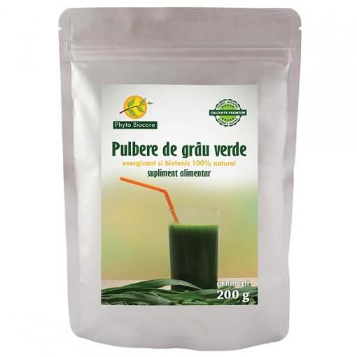 Pulbere de grau verde - 200 g
