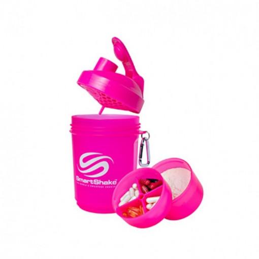 Shaker SmartShake original roz 600 ml