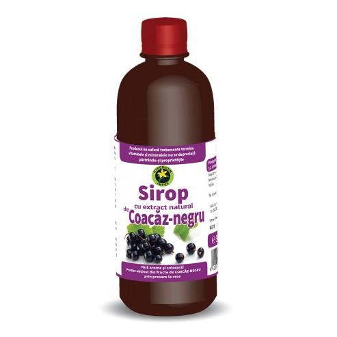 Sirop coacaz negru - 500 ml Hypericum