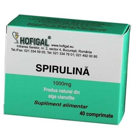 Spirulina 1000 mg Hofigal