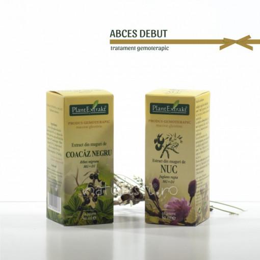 Tratament naturist - Abces - debut (pachet)