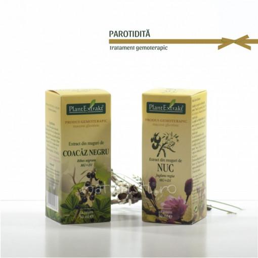 Tratament naturist - Parotidita (pachet)