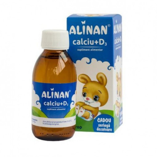 Alinan Calciu + D3 - 150 ml