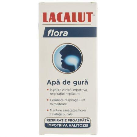 Apa de gura Lacalut Flora - 300 ml