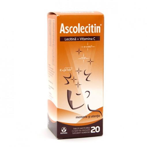 Ascolecitin - 20 capsule masticabile