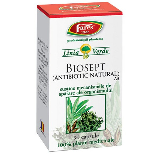 Poze Biosept - Antibiotic natural - 30 cps