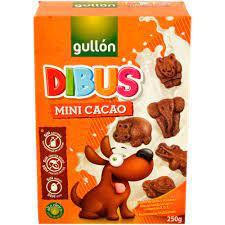 Biscuiti mini de cacao Dibus, fara lactoza - 250g