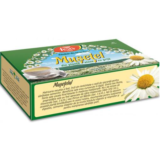 Ceai Musetel - 80 plicuri