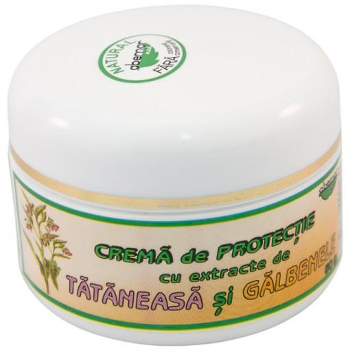 Crema protectoare cu tataneasa si galbenele - 50 g