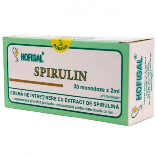 Crema Spirulin - 30 monodoze Hofigal