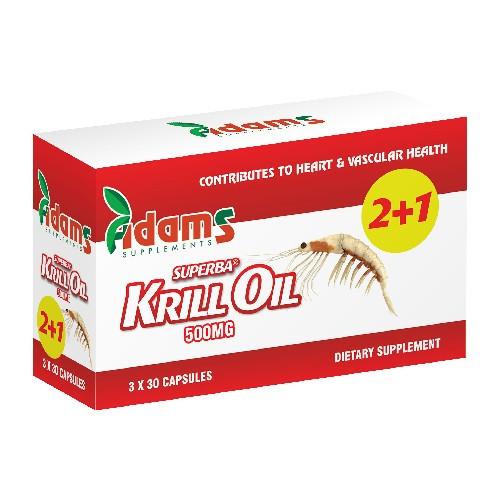 Krill Oil 500 mg - 30 cps 2 + 1 Gratis