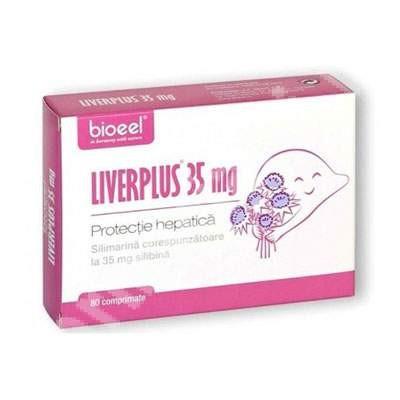 Liverplus protectie hepatica 35 mg - 80 cpr Bioeel