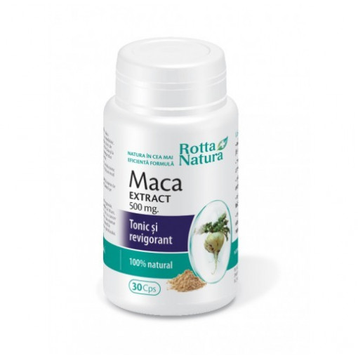 Poze Maca extract 500 mg  - 30 cps