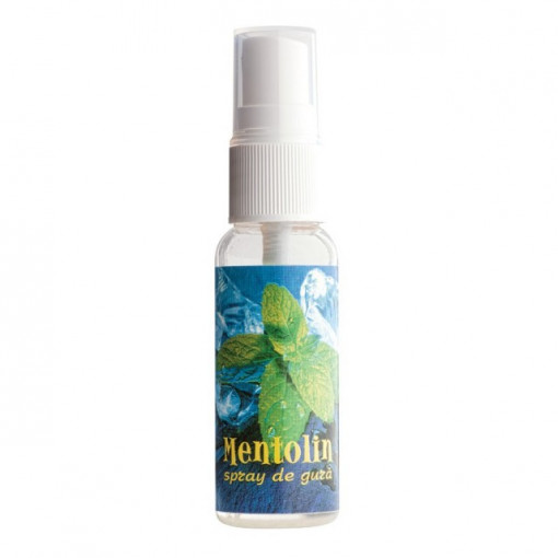 Mentolin spray de gura - 25 ml