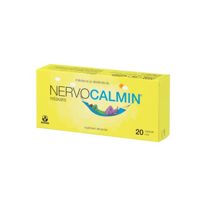 Nervocalmin Relaxare - 20 cps
