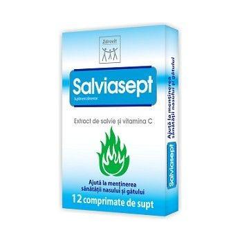 Salviasept - 12 cpr