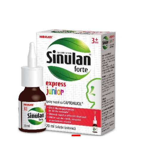 Poze Sinulan Forte Express Junior - 120 ml