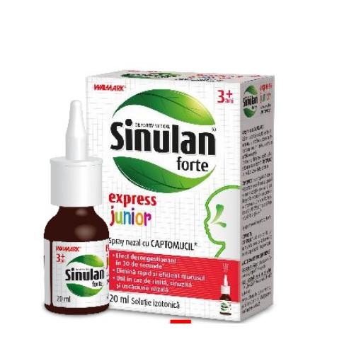 Sinulan Forte Express Junior - 120 ml