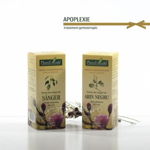 Tratament naturist - Apoplexie (pachet)
