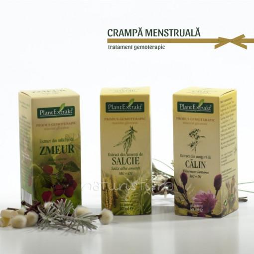 Tratament naturist - Crampa menstruala (pachet)