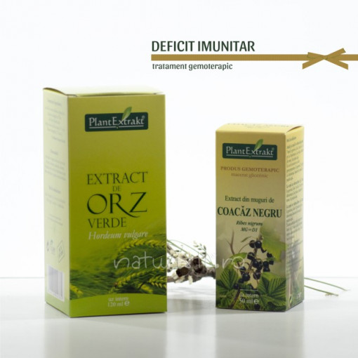 Tratament naturist - Deficit imunitar (pachet)