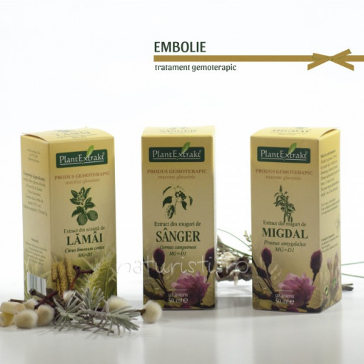 Tratament naturist - Embolie (pachet)