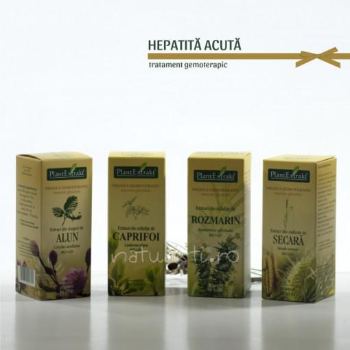 Tratament naturist - Hepatita acuta (pachet)