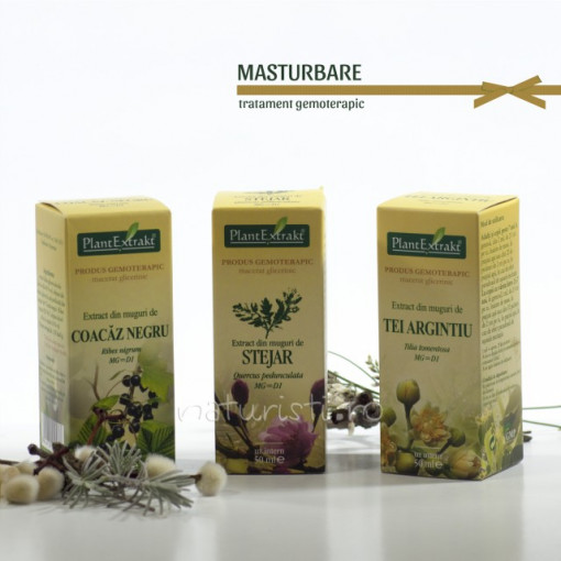 Tratament naturist - Masturbarea (pachet)