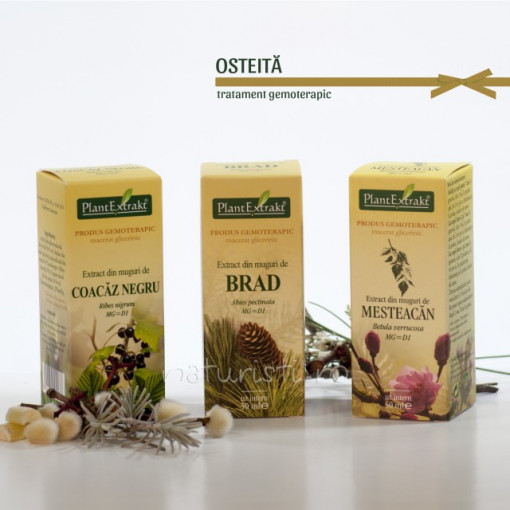 Tratament naturist - Osteita (pachet)