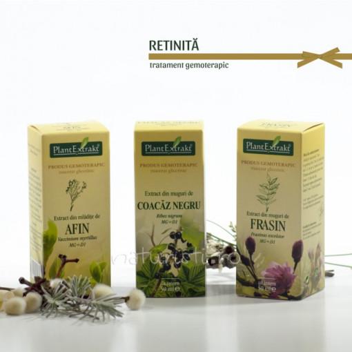 Tratament naturist - Retinita (pachet)