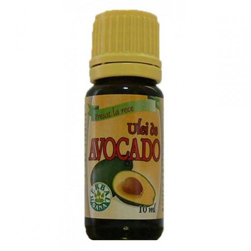 Ulei de Avocado presat la rece - 10 ml