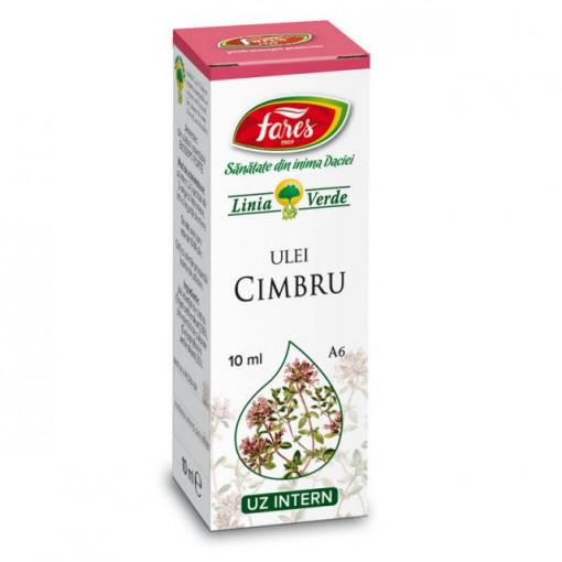 Ulei esential de Cimbru A6 - 10 ml Fares