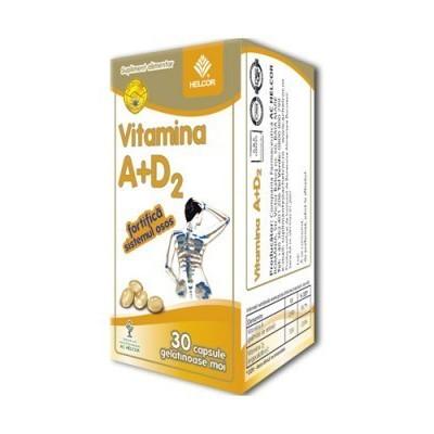 Vitamina A + D2 - 30 cps