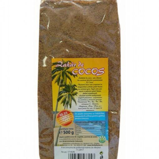 Zahar cocos - 500 g Herbavit