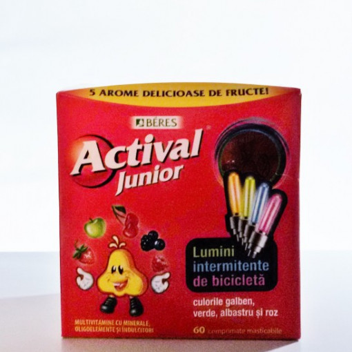 Actival Junior 60 comprim + cadou JUCARIE