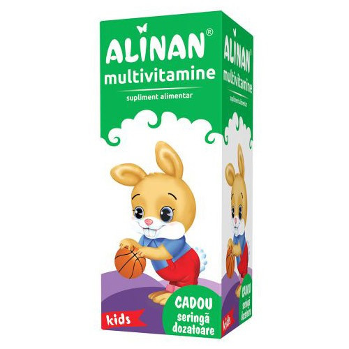Poze Alinan Multivitamine Kids Sirop - 150 ml