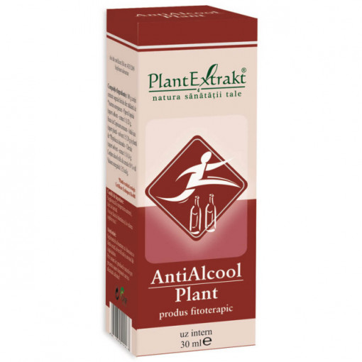 Antialcool plant x 30ml