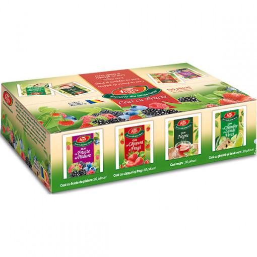 Aromfruct asortat, fructe - 120 plicuri