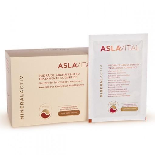 Aslavital mineralactiv pudra tratament cosmetic plic