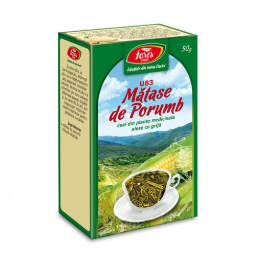 Ceai Matase Porumb U83 - 50 gr Fares