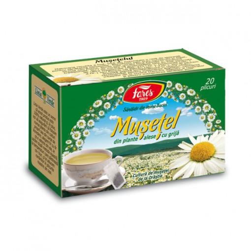 Ceai Musetel - 20 pl Fares